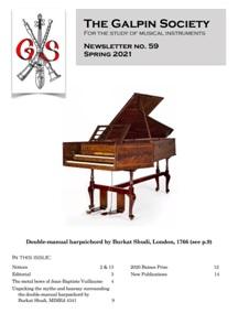 Nové číslo The Galpin Society Newsletter