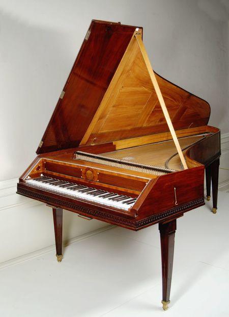 Zapůjčení Mozartova klavíru do Londýna